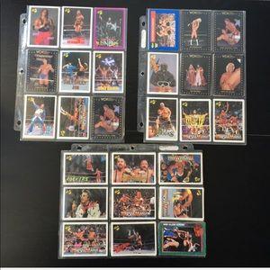 Other - 90 Wrestling Cards